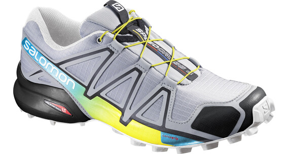 Salomon Speedcross 4 Trailrunning Shoes Men light onix/black/corona yellow